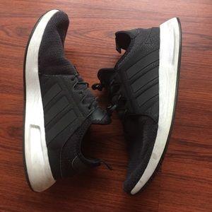 ADIDAS Men's Size 8 Black No shoe Lace shoe ❗️